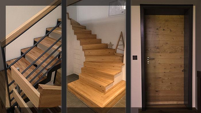 Projekte Türen und Treppen